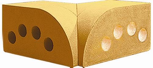 Фото фасонный полукруг внутренний